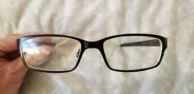 Oakley Men's Deringer Eyeglasses Satin Black OX5066-0152