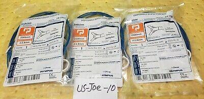 Olympus Fb-230u Disposable Biopsy Forceps Oval Fenestrated 2.8mmx2300mm Lot Of 3