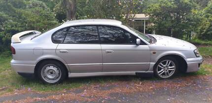 2002 Subaru Liberty Rx 4 Sp Automatic 4d Sedan New Lambton Heights Newcastle Area Preview