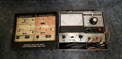 Vintage Sencore Tf17a Transistor Fet Tester