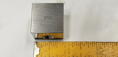 .950 Ellstrom Square Steel Gage Gauge Block.