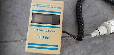 Teledyne Analytical Ted 60t Oxygen Analyser With Oxygen Sensor Digital Lcd