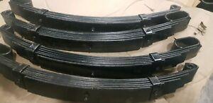 4 sets of 6 leaf Roller Rocker Springs