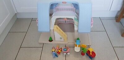 Vintage Little Tikes Dolls House Play House Set 90s 80s Toy Collectable Rare