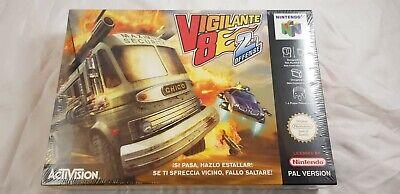 * Nintendo 64 * Vigilante 8 2nd Offense * N64 * NEW & Sealed * PAL *
