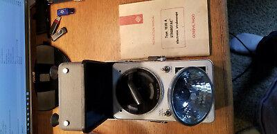General Radio 1538-a Strobotac Electronic Stroboscope With Manual
