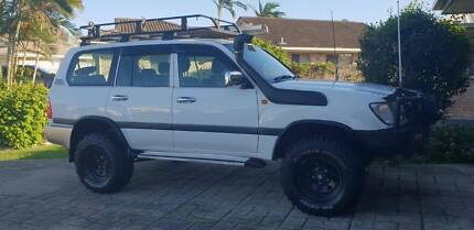 2001 Toyota LandCruiser SUV Mackay Mackay City Preview