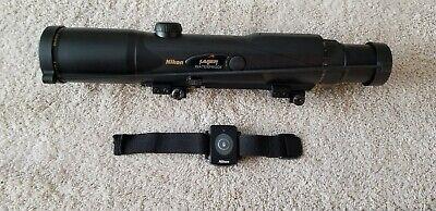 NIKON Laser IRT 4-12X42 Rangefinder Rifle Scope With BDC