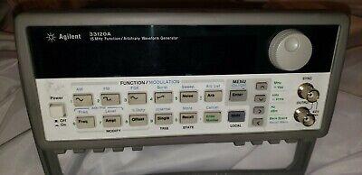 Agilent 33120a 15 Mhz Function Arbitrary Waveform Generator