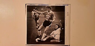 Glossy Press Photo Marlboro MA Soccer Player Scott Campbell - Soccer Player Photo