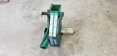Greenlee 22220 1818g1 Mechanical Conduit Bender Head Frame Unused Show Rust