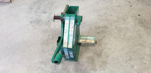 Greenlee 22220 1818G1 Mechanical Conduit Bender Head & Frame UNUSED SHOW RUST