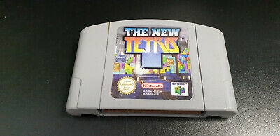 Nintendo 64 N64 Game The New Tetris