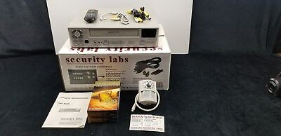 Security Labs Sl820 24 Hr Real 1280 Hr Time Lapse Recorder Wremote Cables ...