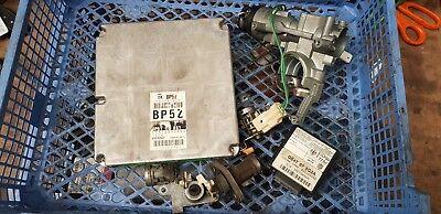 MAZDA MX5 (MK2 1998 - 2000) BP5Z ECU + LOCK SET - DOORS  IGNITION ETC 1.8