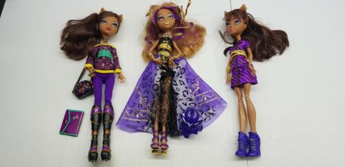 Clawdeen 2008 Monster High doll 13 wishes coffin bean schools out wave choose 1