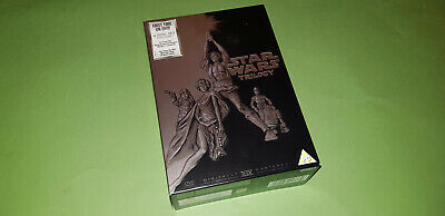 Star Wars The Original Trilogy Plus Bonus Disc DVD Box Set - 4 Discs