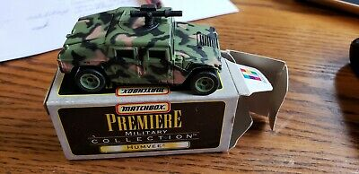 MATCHBOX PREMIERE MILITARY COLLECTION - HUMVEE - OPEN BOX