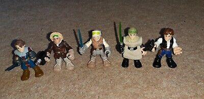 Star wars Galactic Heroes Figures Bundle Playskool Imaginext