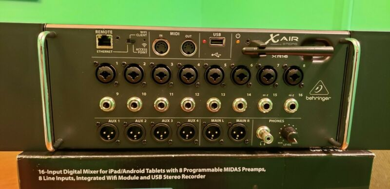 Used Behringer X Air XR16