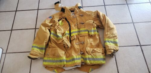 Morning Pride firefighter bunker turnout jacket Chest 44 sleeve 33.5