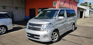 2008 Nissan Elgrand 3.5L Highway Star Silver with Leather Seats Fawkner Moreland Area Preview