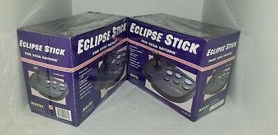 2 NEW in Purple box Interact Sega Saturn Eclipse Arcade Joystick Joy Stick  #38C