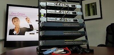 Latest IOS 15.7 Cisco CCNA v3.0 and CCNP v2.0  LAB KIT CISCO1921