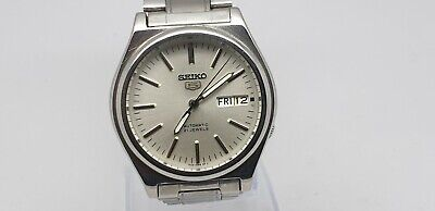 VINTAGE SEIKO 7S36-3170 AUTOMATIC DAY/DATE 21 JEWELS JAPAN MADE MEN'S WATCH