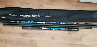 Preston Monster 8.5m margin pole sections missing tops