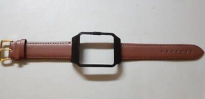 Sony SmartWatch 3 SWR50  Black Housing & Brown Calf Leather Strap
