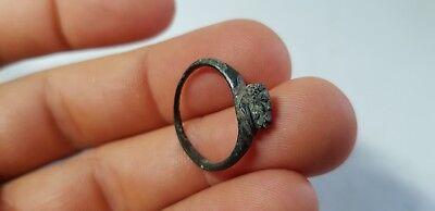 Greek Ring with Deity. 4th-1st century BC