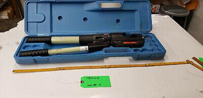 Thomas Betts Tbm14m 297-31858 14-ton Hyd Crimp Crimping Tool No Dies Lot5