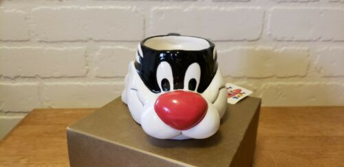 VINTAGE SYLVESTER COFFEE MUG WITH BOX WARNER BROS.