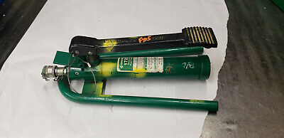 Greenlee 1725 Hydraulic Foot Pump 6500-psi. Working Tool