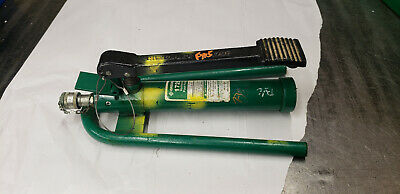 Greenlee 1725 Hydraulic Foot Pump 6500-psi. Working Tool