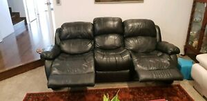 GENUINE LEATHER SOFA FOR LESS THAN ONE THIRD THE PRICE