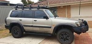 2002 Nissan Patrol St (4x4) 5 Sp Auto Sports Shift 4d Wagon