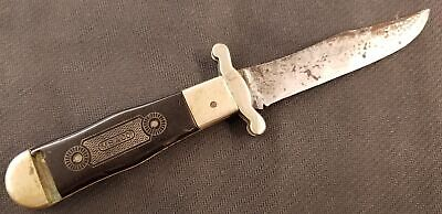 Rare MARBLES MSA Co. Wagon Wheel 2nd Second Model Safety Knife 1911-12