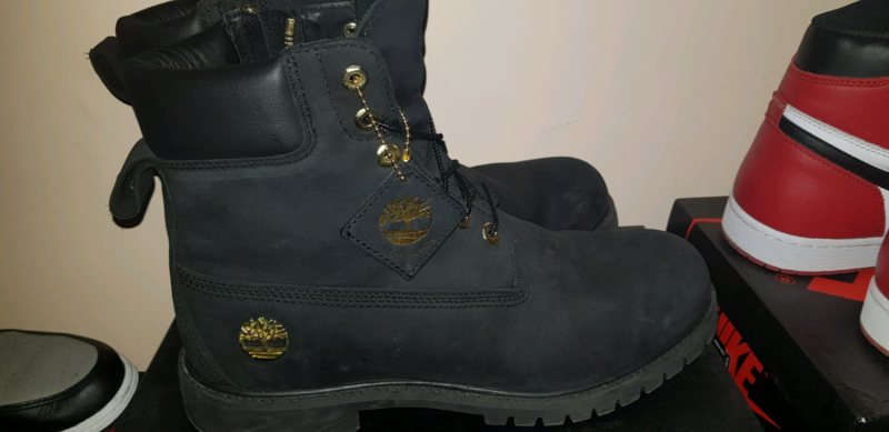 33b2726de40c9e US 11) Black Timberland 6 quot  boot x Culture Kings