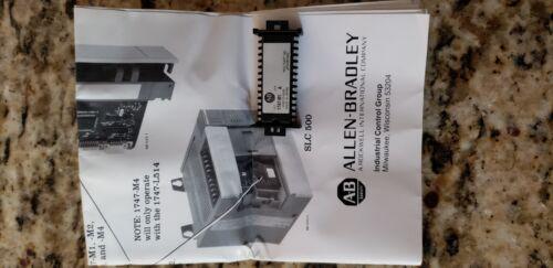 ALLEN BRADLEY 1747-M1 EEPROM MEMORY MODULE SLC 500
