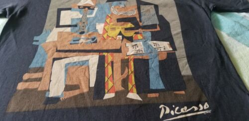 PICASSO VERY RARE 80S VINTAGE TEE SHIRT 1988 STUNNING RARE UNUSED MEDIUM 1990
