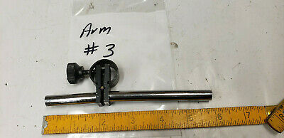 Magnetic Base Dial Indicator Holder Fine Adjust Arm Part 38 Rod.  Lot3