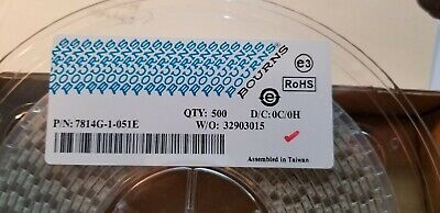 Bourns 7814g-1-051e Switch Rotary Dip Spdt 100ma 16v Rohs Smd 500 Pcs