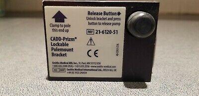 Smiths Medical Cadd-prizm Lockable Polemount Bracket Pole 21-6120-51 Ad022