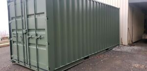 Shipping container storage for rent