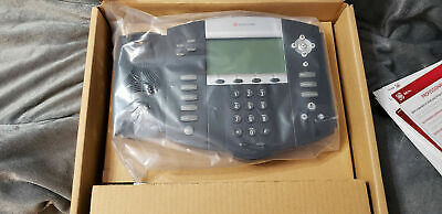 Polycom Soundpoint Ip550 Voip Sip Phone 2200-12550-001 8x8 Virtual Office