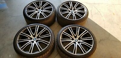 "20"" BMW 5 Series G30/G31 & 7 Series G11/G12 OEM 759i V-Spoke Wheels & Tires"