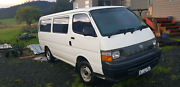 Toyota hiace Cradoc Huon Valley Preview
