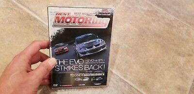 Best Motoring - The Evo Strikes Back DVD, 2004 NEW SEALED (Best Motoring Dvds)